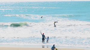 第1回鳥人サーフィンコンテスト/御前崎【新日本サーフィン連盟】